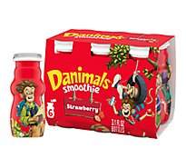 Danimals Smoothie Strawberry Explosion - 6-3.1 Fl. Oz.