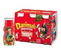 Danimals Smoothies Swingin Strawberry Banana - 6-3.1 Fl. Oz.