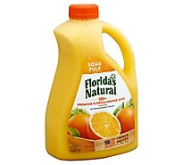 Floridas Natural Juice Orange with Some Pulp Home Squeezed Style Chilled - 89 Fl. Oz.