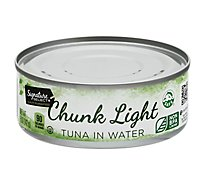 Signature SELECT Tuna Chunk Light in Water - 5 Oz