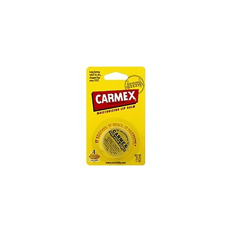 Lil Drug Carmex Jar - .15 Oz