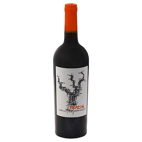 Brazin Wine Zinfandel Old Vine Lodi - 750 Ml