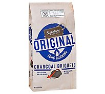Signature SELECT Charcoal Briquets Long Burning Original - 15.4 Lb