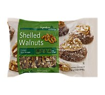 Signature Kitchens Walnuts Shelled - 16 Oz