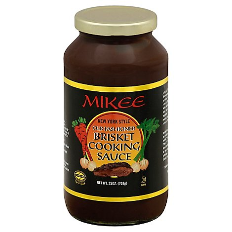 Mikee Brisket Cooking Sauce - 25 Oz