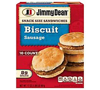 Jimmy Dean Snack Size Sausage Biscuit Sandwiches 10 Count