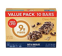 Fiber One Chewy Bars Oats & Chocolate Value Pack - 10-1.4 Oz