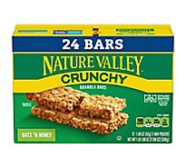Nature Valley Granola Bars Crunchy Oats n Honey Value Pack - 12-1.49 Oz