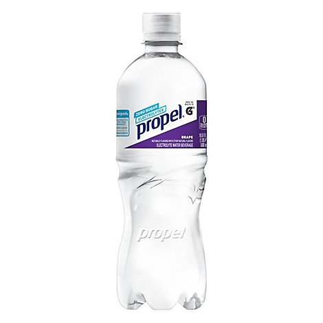 Propel Water Beverage with Electrolytes & Vitamins Grape - 24 Fl. Oz.