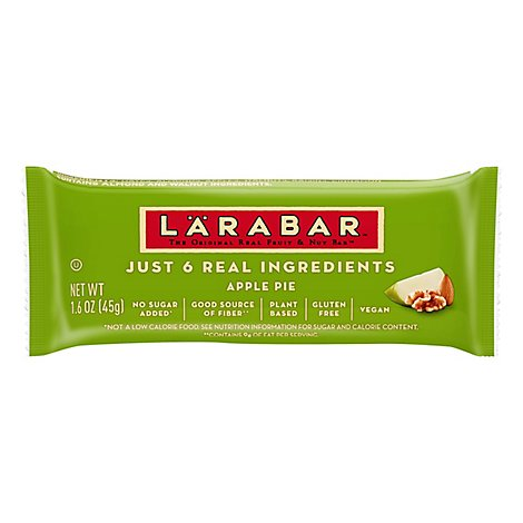 Larabar Food Bar Fruit & Nut Apple Pie - 1.6 Oz