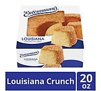 Entenmanns Crunch Cake Louisiana - 20 Oz