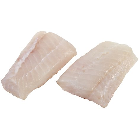 Seafood Counter Fish Haddock Fillet Fresh Kosher Service Case - 1.00 LB