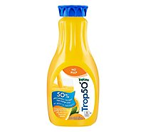 Tropicana Trop50 Orange Juice No Pulp Chilled - 52 Fl. Oz.