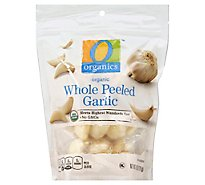 O Organics Organic Garlic Whole Peeled - 6 Oz