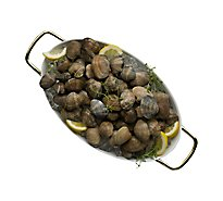 Seafood Service Counter Clams Steamer Live - 2.00 LB