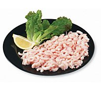 Seafood Counter Shrimp Cooked 91-110 Count Tiny Previously Frozen Service Case - 1.00 LB
