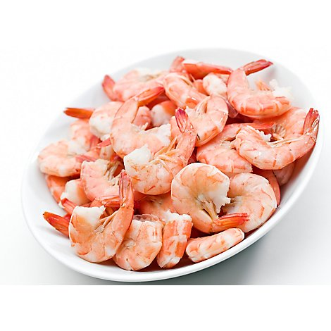 Seafood Service Counter Shrimp Cooked 21-25 Count Jumbo Previously Frozen - 1.00 LB
