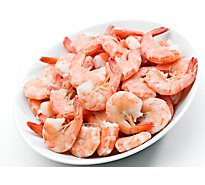 Seafood Counter Shrimp Cooked Previously Frozen Jumbo 21 To 25 Count - 1 Lb