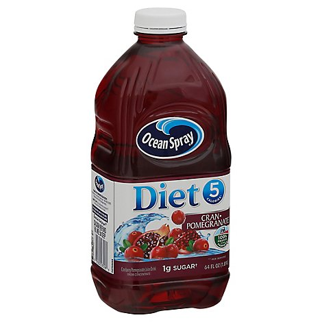 Ocean Spray Diet Juice Cran-Pomegranate - 64 Fl. Oz.