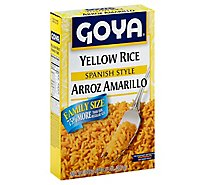 Goya Rice Yellow Spanish Style - 14 Oz