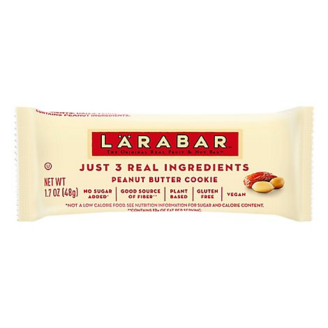 Larabar Food Bar Fruit & Nut Peanut Butter Cookie - 1.7 Oz