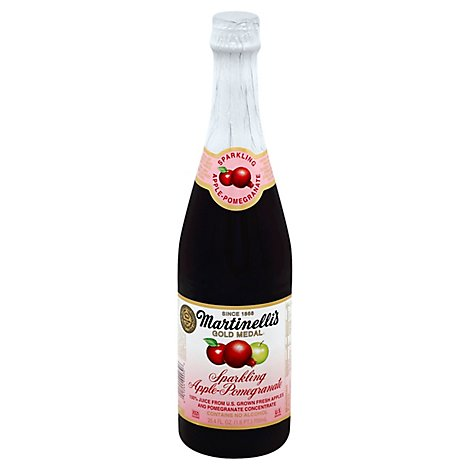 Martinellis Gold Medal Juice Sparkling Apple Pomegranate - 25.4 Fl. Oz.