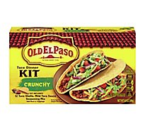 Old El Paso Tortillas Flour Dinner Kit Taco Crunchy Box - 8.8 Oz