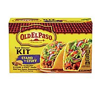 Old El Paso Tortillas Flour Dinner Kit Taco Stand N Stuff Box - 8.8 Oz