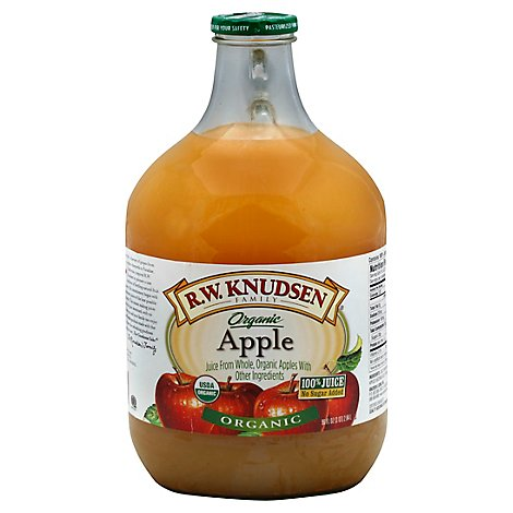 R.W. Knudsen Juice Apple Unfiltered - 96 Fl. Oz.
