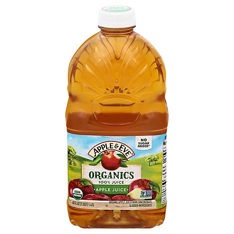 Apple & Eve 100% Juice Apple Juice Natural - 48 Fl. Oz.