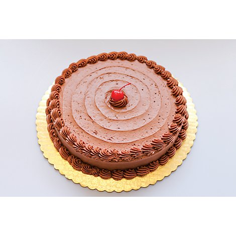 Bakery Cake 1/8 Sheet Chocolate Seasonal - Each