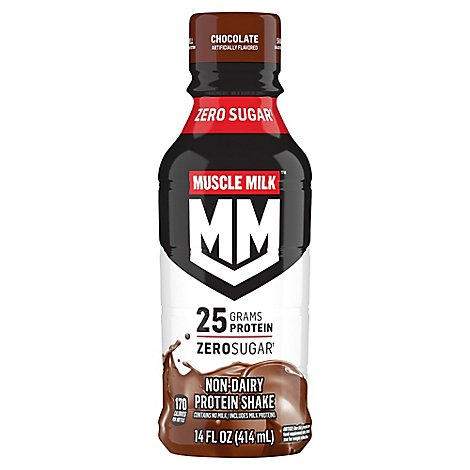 MUSCLE MILK Protein Shake Chocolate - 14 Fl. Oz.