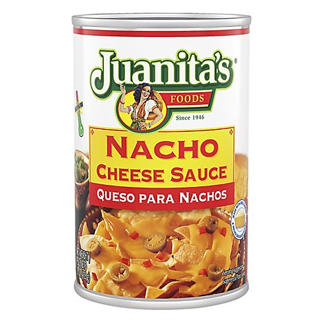 Juanitas Foods Mexican Gourmet Sauce Nacho Cheese Can - 15 Oz