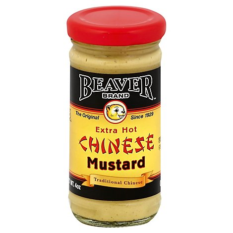 BEAVER Mustard Chinese Extra Hot - 4 Oz