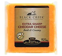 Black Creek Cheese Cheddar Sharp Aged 3 Years - 7 Oz