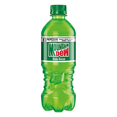 Mtn Dew Soda Throwback - 20 Fl. Oz.
