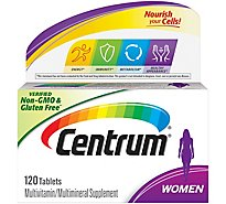 Centrum Multivitamin Multimineral Supplement Ultra Womens Tablets - 100 Count