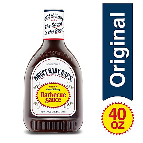 Sweet Baby Rays Sauce Barbecue - 40 Oz