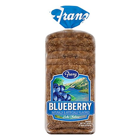 Franz Sandwhich Bread Lake Chelan Blueberry - 20 Oz