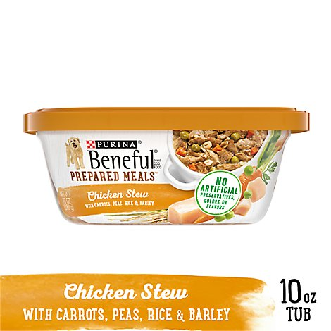 Beneful Dog Food Wet Prepared Meals Chicken - 10 Oz