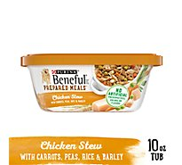 Beneful Prepared Meals Dog Food Chicken Stew Can - 10 Oz