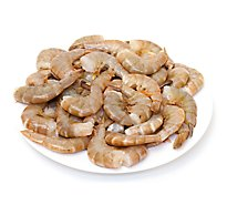 Seafood Counter Shrimp Raw Previosly Frozen Jumbo 21 - 25 Count - 1 Lb