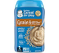 Gerber Cereal Whole Wheat - 8 Oz