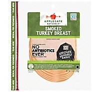 Applegate Natural Smoked Turkey Breast - 7 Oz