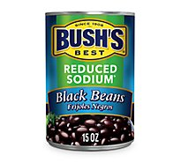 BUSHS BEST Beans Black Reduced Sodium - 15 Oz