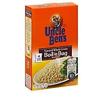 Uncle Bens Rice Brown Natural Whole Grain Boil-In-Bag - 14 Oz