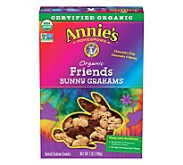 Annies Homegrown Friends Bunny Grahams Graham Snacks Organic Baked - 7 Oz