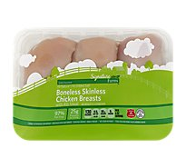 Signature Farms Boneless Skinless Chicken Breasts - 2.0 Lbs