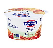Fage Total 2% Yogurt Greek Lowfat Strained with Honey - 5.3 Oz