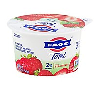 Fage Total 2% Yogurt Greek Lowfat Strained with Strawberry - 5.3 Oz